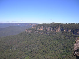 Blue Mountains Scene